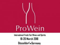 Let's come and visit us: from the 18th to the 20th of March 2018 we will be present to the Pro Wein exibition in Dusseldorf  . Hall 15 stand  A51