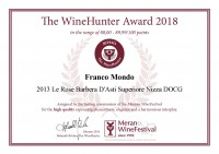The WineHunter Award