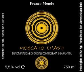 Moscato d´Asti DOCG 2016